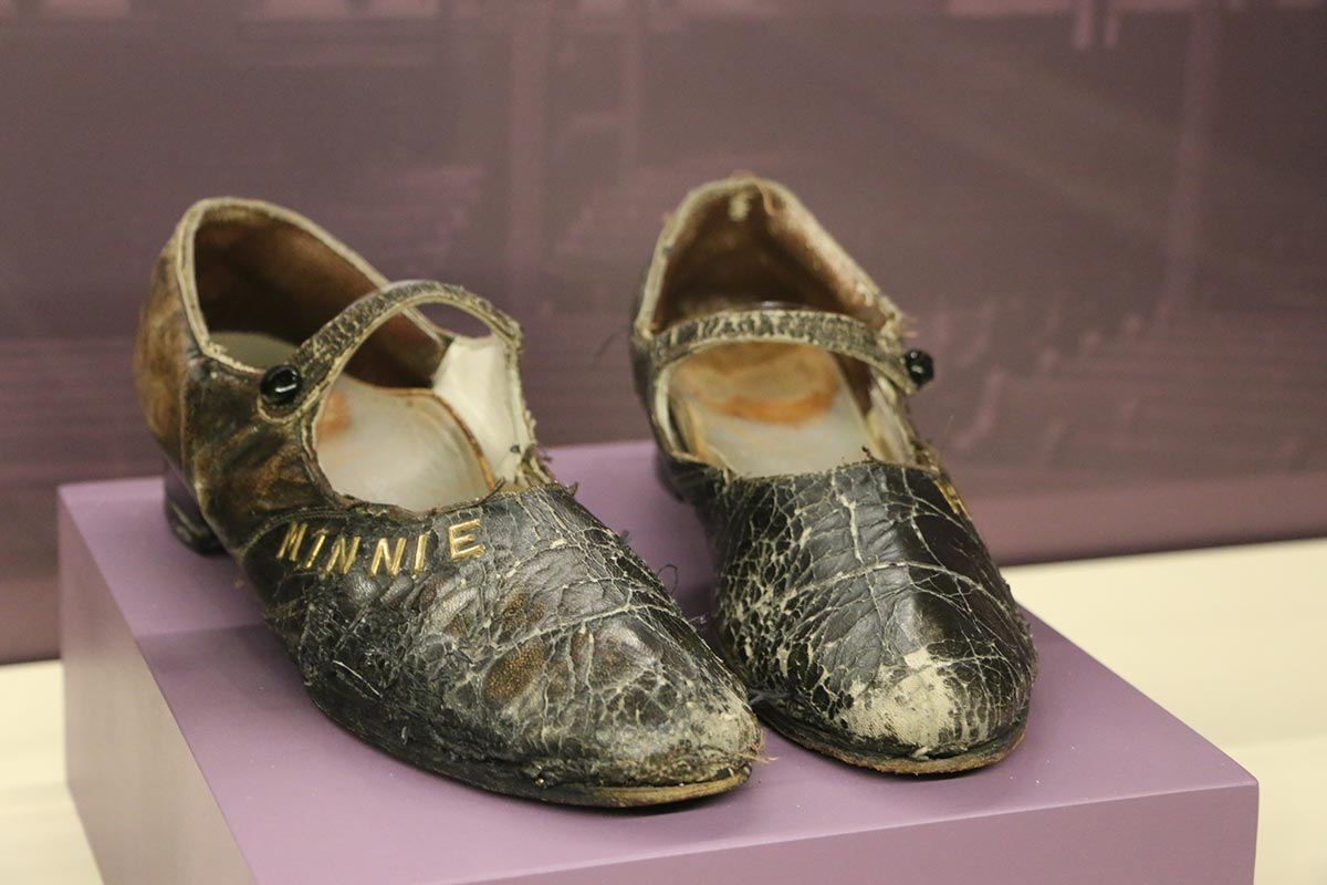 Minnie Pearl's worn shoes