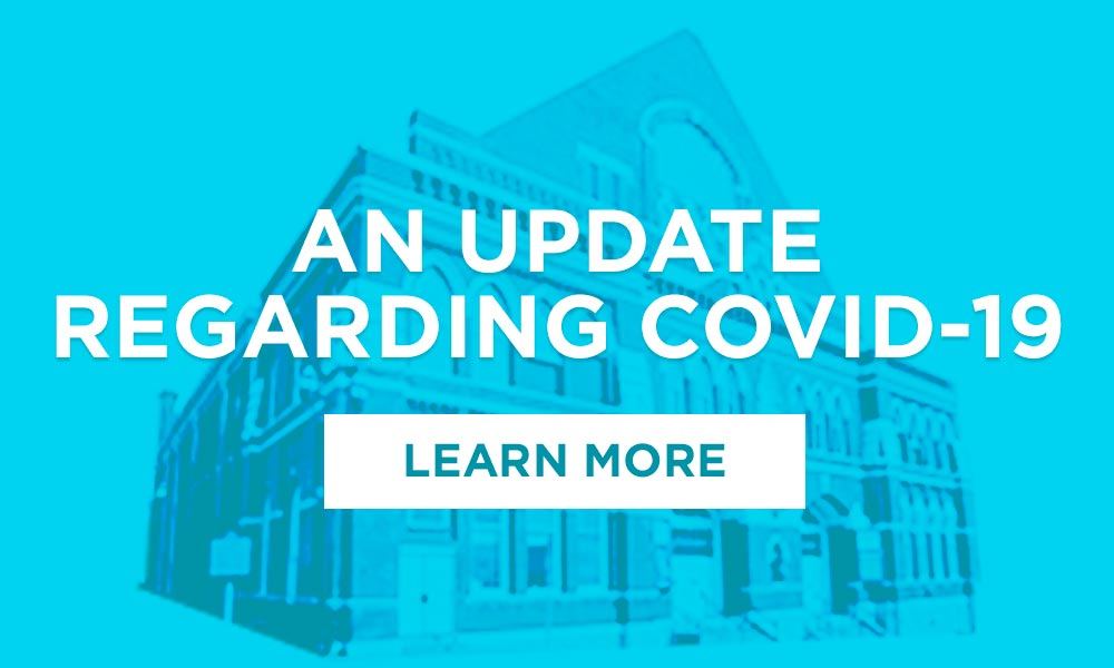 An Update Regarding COVID-19 - Learn More
